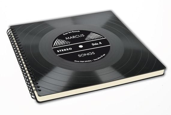 Fotoalbum aus einer echten Schallplatte - Geschenke für Männer | Freundin | Geschenk für Freund | Frau | retro