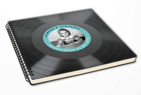 Personalisiertes Fotoalbum |  Gästebuch aus Schallplatte | Personalisierbar | Geburtstag | Geschenk | Phonoboy