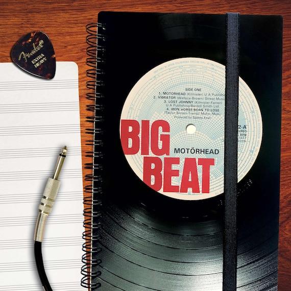 Notizbuch A5 aus Schallplatte | Phonoboy