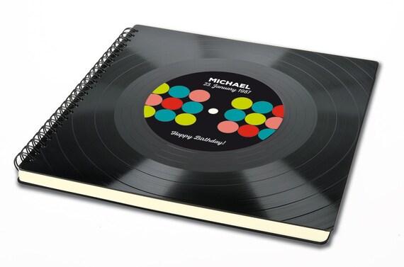 Personalisierbares Fotoalbum aus Schallplatte | Alternatives Geburtstagsgeschenk | Geschenk zum Geburtstag | Phonoboy