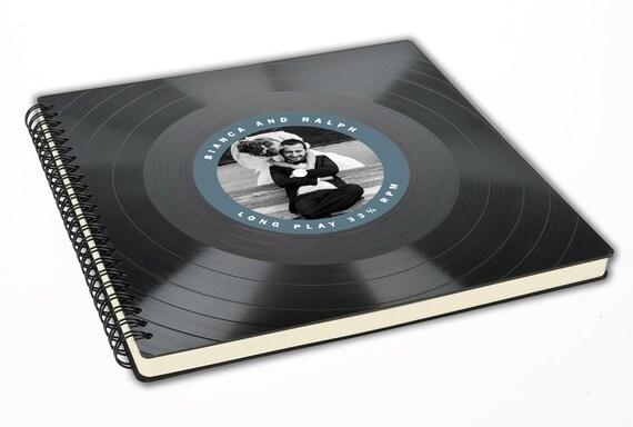Individualisierbares Hochzeitsalbum | Gästebuch aus Schallplatte | Fotoalbum | Hochzeit | Geschenk | Phonoboy