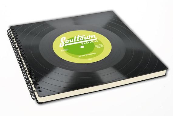 Personalisiertes Gästebuch | Fotoalbum aus Schallplatte | Personalisierbares | Hochzeit | Geschenk | Vintage | Phonoboy
