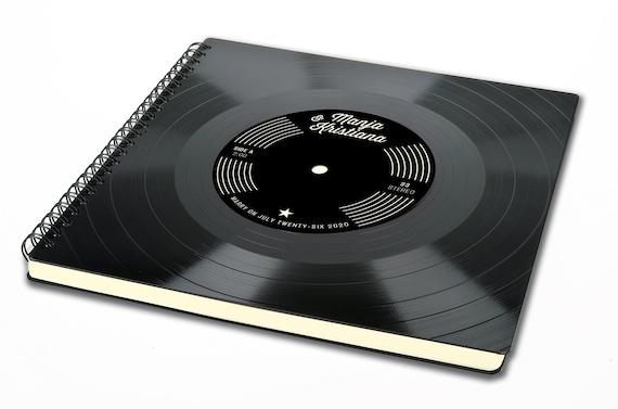 Schallplatten Gästebuch Hochzeit | personalisiertes Fotoalbum | Hochzeitsalbum