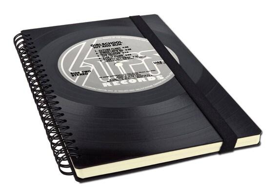 Notizbuch aus Schallplatte | Notenheft | Kalender | Tagebuch aus Vinyl | | Phonoboy