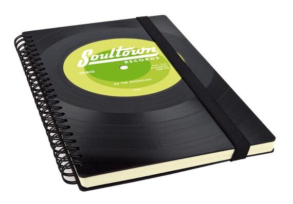 Personalisiertes Notizbuch - Individuelles Geschenk | Blanko Notizbuch | Notizbuch A5 | Personalisiertes Geschenk | Geschenk Musiker