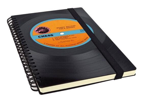 Notizbuch aus Schallplatte   Notenheft   Kalender   Tagebuch aus Vinyl     Phonoboy