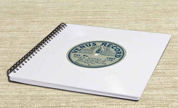 Gästebuch | Fotoalbum aus weisser Schallplatte | Hochzeit | Geschenk | Vintage