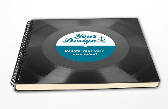Fotoalbum aus Schallplatte mit deinem Design | Geschenk für Künstler | Musikliebhaber | Musiker | Phonoboy