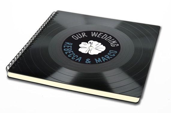 Personalisierbares Hochzeitsalbum | Gästebuch aus Schallplatte | Fotoalbum | Hochzeit | Geschenk | Vintage | Phonoboy