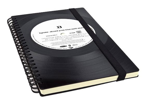 Notizbuch aus Schallplatte | Notenheft | Kalender | Tagebuch aus Vinyl |
