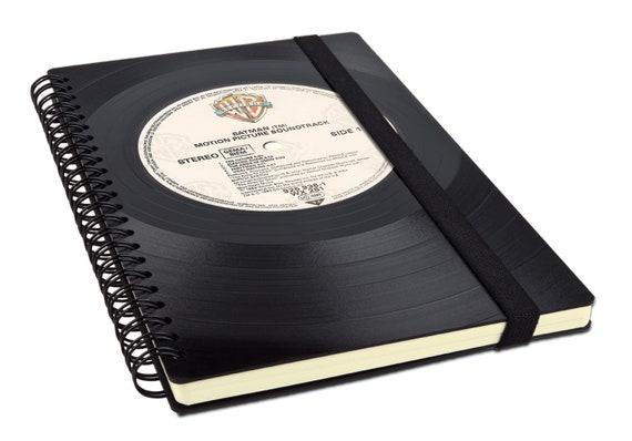 Taschenkalender 2019 aus einer Schallplatte   Notizbuch   Geschenk für Musikliebhaber   Buchkalender 2019   Wochenkalender   Phonoboy