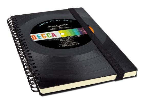 Recycling Notizbuch aus Schallplatte | Phonoboy