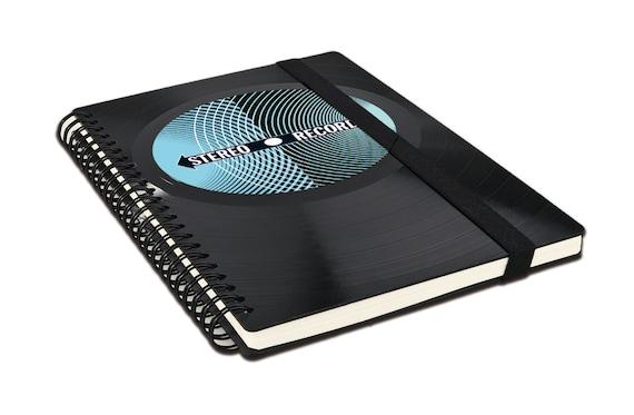 Notizbuch aus Vinyl****STEREO | Phonoboy