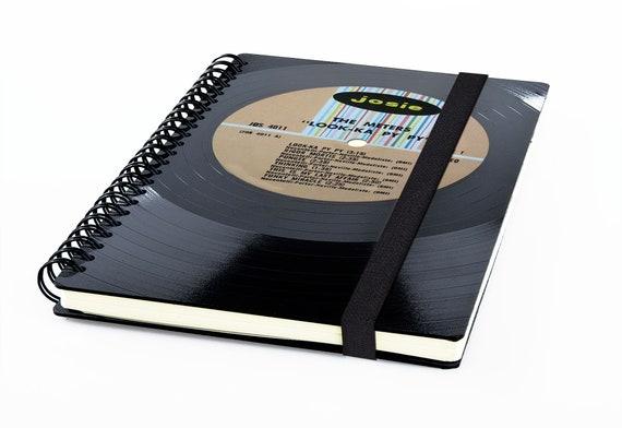 Taschenkalender 2020 aus einer Schallplatte | Notizbuch | Musik Geschenk | Vintage | Kalender | Planer