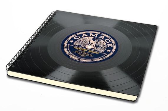 Vintage Fotoalbum aus Schallplatte - Fotobuch | Vintage | Gästebuch | retro | Phonoboy