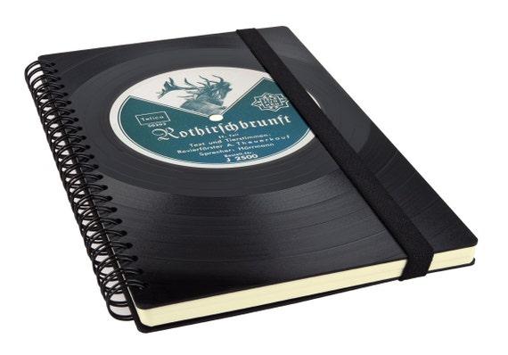 Rezeptbuch aus Schallplatte - Geschenke für Frauen | Phonoboy
