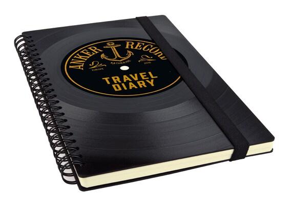 Personalisiertes Reisetagebuch | Geschenk Reisende | Tagebuch | Reisetagebuch personalisierbar | Individuelles Notizbuch | Phonoboy
