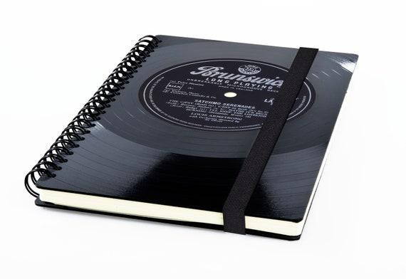 Wochenkalender 2020 aus einer Schallplatte | Recycling Notizbuch | Musik Geschenk | Vintage | Kalender | Planer