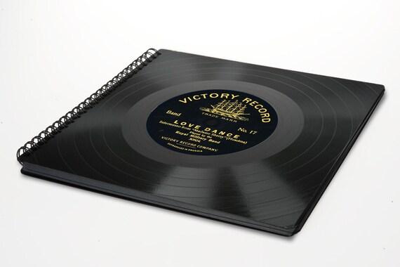 Fotoalbum | Gästebuch aus Schallplatte - Geschenk Hochzeit | Künstler | Fotograf | Musiker | Musikliebhaber | Phonoboy