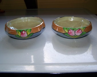Lusterware Potted Plant Saucers