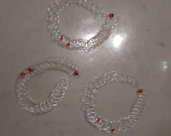 clear tattoo choker with red vampire bites