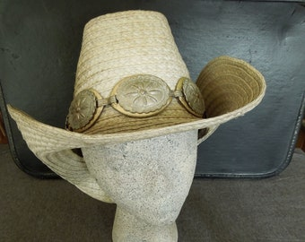 a055eda7e68cb Straw Cowboy Hat with