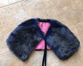 Dog jacket coat capelet c...