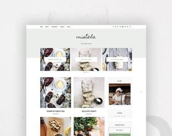 Responsive Blogger Template | Foodie Bloggers | Mistela