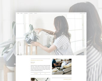 Wordpress Theme |  Genesis Child Theme | Responsive Wordpress Theme Catelyn | WooCommerce ready!