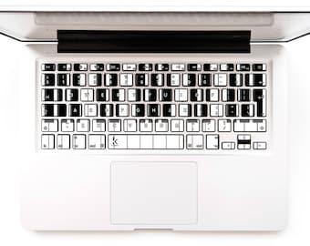 Piano keys Macbook Keyboard Stickers Macbook Keyboard decals Cover Macbook Mac Lenovo Asus Sony Acer Dell HP Samsung Toshiba #Piano Keyboard