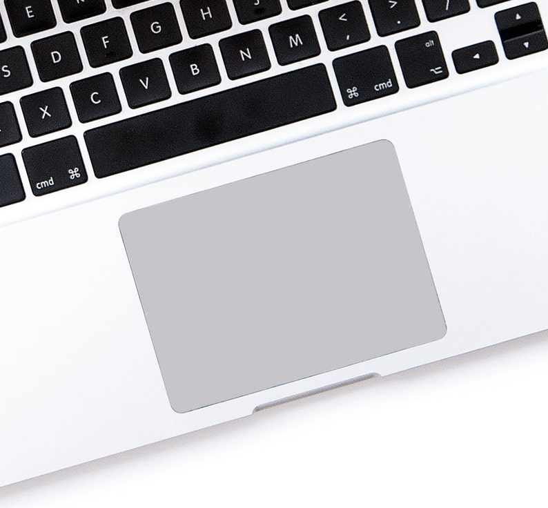 Macbook trackpad gray touchpad decal sticker custom size for any laptop  Apple Macbook Pro, Pro Retina, Macbook Air Trackpad # light grey