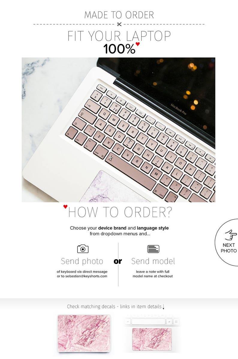 Zlota Roza Rozowy Hp Pc Laptopa Naklejki Dell Macbook Samsung Etsy