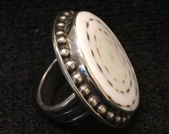 Ring ~ Shankha Shell Artist John Binzley