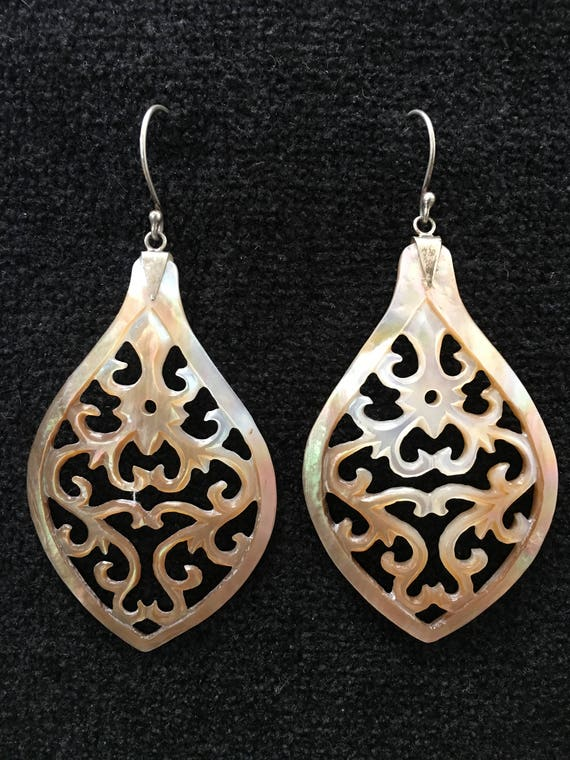 Earrings ~ Mother of Pearl