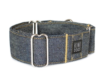 Lovely Goats Brown and White CANVAS Dog Collar Martingale, Buckle, or Tag