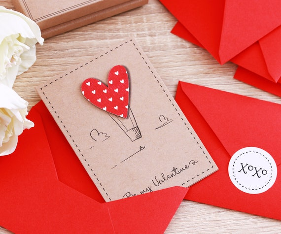Kids Valentines Day Cards 12 Kids Valentines Cards Valentines Etsy