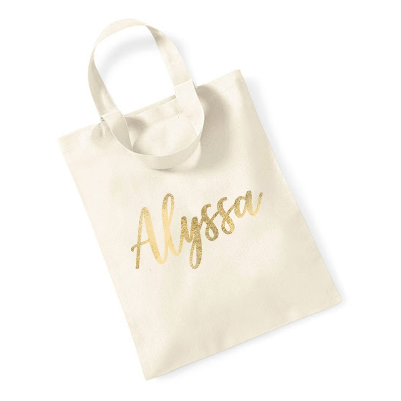 Personalized Tote Bags for Bridesmaid Gift Bag Bridesmaid Tote image 0