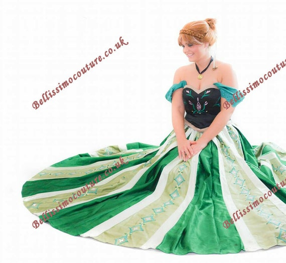 Disney Dress Princess and Frog Tiana Costume adult SIZE 6,8,10,12,14,16