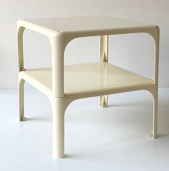 Wondrous Artemide Demetrio 45 Stackable Coffee Table Designed By Vico Magistretti In Italy 1966 Set Of Two Inzonedesignstudio Interior Chair Design Inzonedesignstudiocom