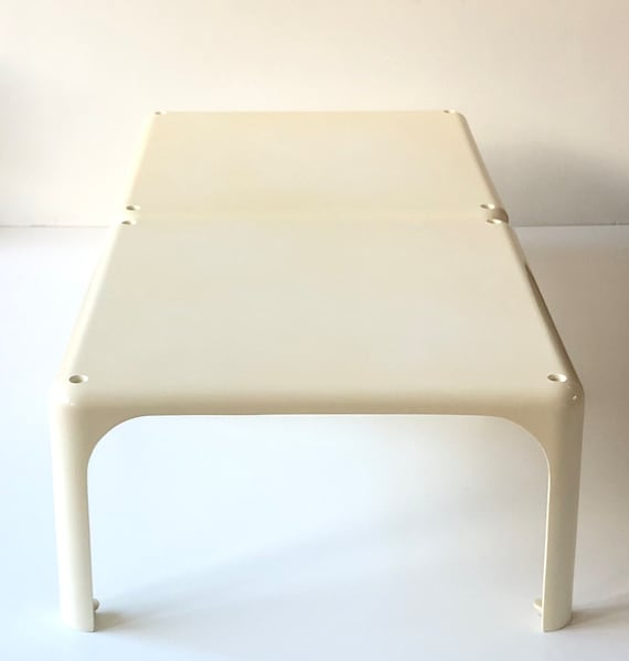 Excellent Artemide Demetrio 45 Stackable Coffee Table Designed By Vico Magistretti In Italy 1966 Set Of Two Inzonedesignstudio Interior Chair Design Inzonedesignstudiocom