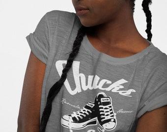 The Madam Vice President Chucks & Pearls, Kamala Harris, 2021 Short Sleeve