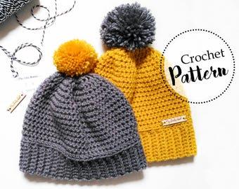 Schema uncinetto berretto bambini || cappello uncinetto per bambini || berretto bambini con pom pom || berretto di lana per bambini
