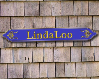 Boat name plaque, Quarterboards, CUSTOM CARVED Signs,carved house signs, V-Carved address signs,personalized plaques