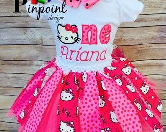 86562f64a Hello kitty birthday dress   Etsy