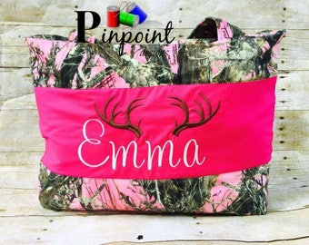 Pink Camo Diaper Bag,     Customized,   100% made from scratch!