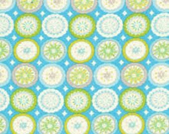 Kumari Garden - Lalit - Blue by Dena Fishbein for Free Spirit Fabrics 4043