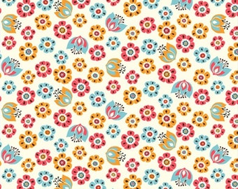 Tuiip Toss, Birch Organic Fabrics Frolic Collection by Rebekah Ginda 3504