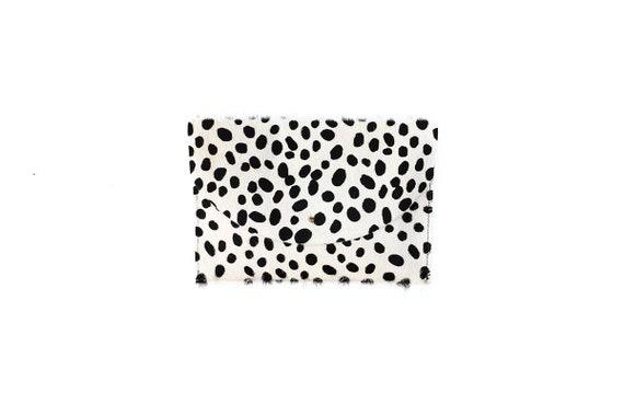 67aa52030194 Cheetah Print Hair on Hide Envelope Clutch Bag iPad Sleeve | Etsy