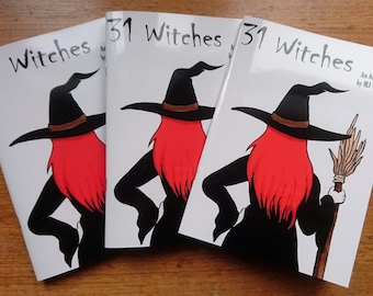 31 Witches Art Book