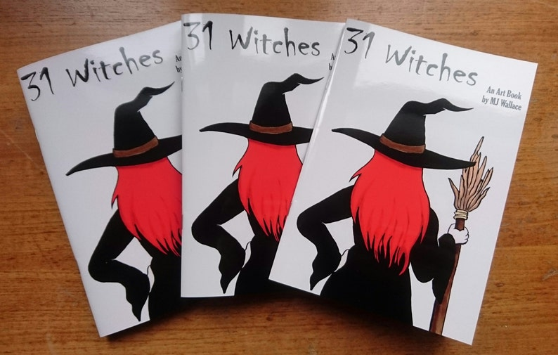 31 Witches Art Book image 0